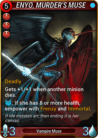 Enyo, Murder's Muse