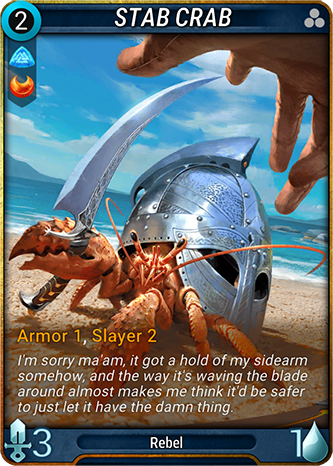 Stab Crab