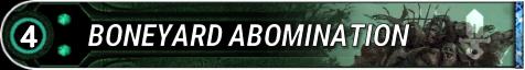 Boneyard Abomination