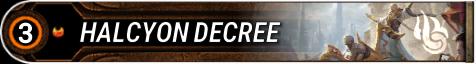 Halcyon Decree