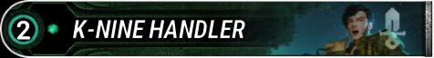 K-Nine Handler