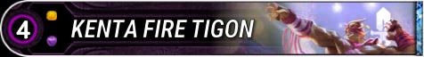 Kenta Fire Tigon