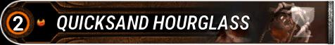 Quicksand Hourglass
