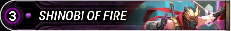 Shinobi of Fire
