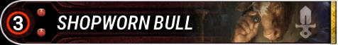 Shopworn Bull