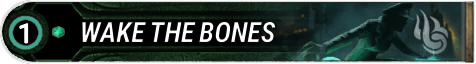 Wake the Bones