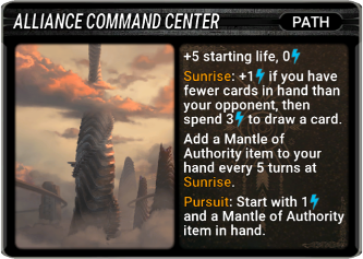 Alliance Command Center