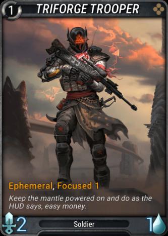 Triforge Trooper